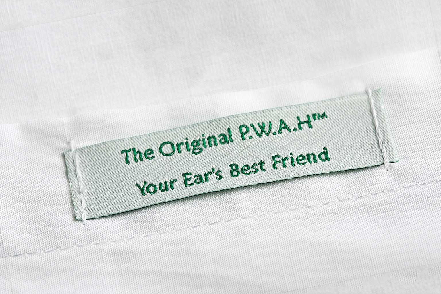 Original PWAH Label
