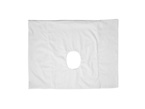 pillowcase with a hole