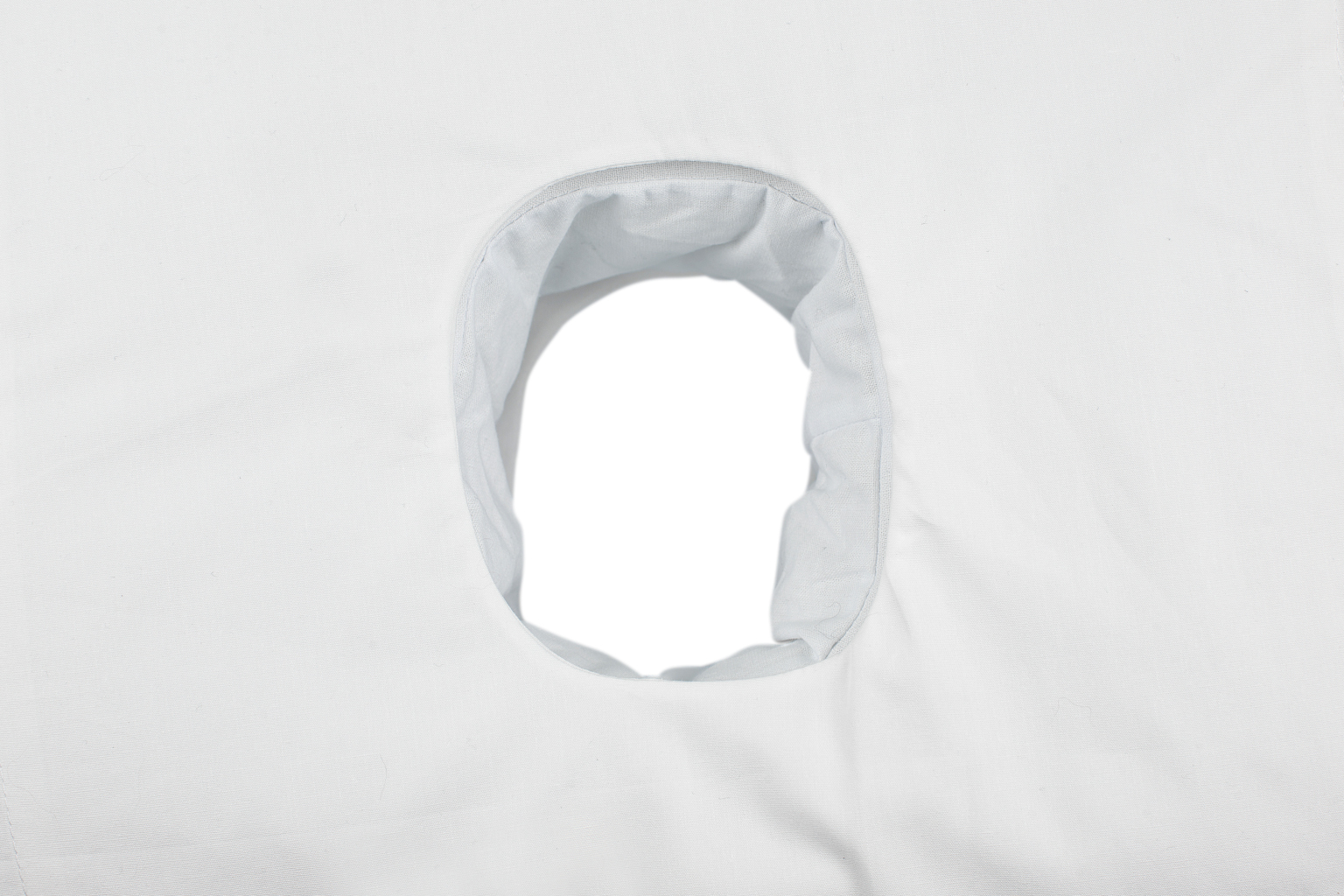 A pillowcase with a hole. Do I need one