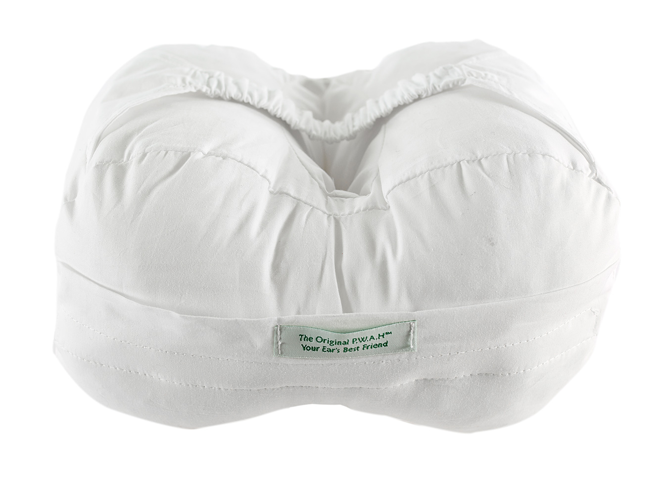 Knee pillow with a hole
