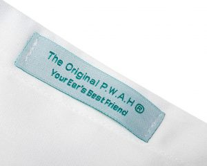 """This is a label for the brand """"The Original PWAH"""""""